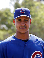 Angel Guzman / AZL Cubs..Photo by:  Bill Mitchell/Four Seam Images
