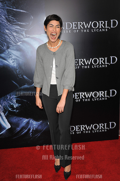 "Eleni Tzimas at the world premiere of ""Underworld: Rise of the Lycans"" at the Arclight Theatre, Hollywood..January 22, 2009  Los Angeles, CA.Picture: Paul Smith / Featureflash"