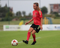 20200627 - TUBIZE , Belgium : Talitha De Groote is pictured during a training session of the Belgian Red Flames U19, on the 27 th of June 2020 in Tubize.  PHOTO SEVIL OKTEM| SPORTPIX.BE