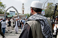 Eid celebration at the Wazer Wohhammed Akbar Khan Mosque in Kabul. 10-9-10