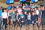 Key Of The Door: John Heaphy, Listowel, fourth from right seated, celebrating his 21st birthday with family & friends at The Kingdom Bar, Listowel on Saturday night last .