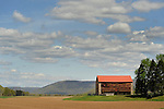 Montoursville stone barn in Spring. Route 87.
