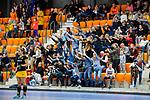 ROTTERDAM  - NK Zaalhockey,   halve finale dames Laren-Den Bosch. Laren wint. publiek, toeschouwers, tribune, vermaak, plezier,       COPYRIGHT KOEN SUYK