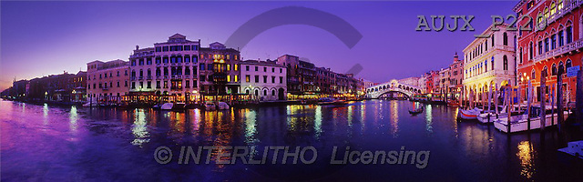 Dr. Xiong, LANDSCAPES, panoramic, photos, Grand Canal, Italy(AUJXP220,#L#)