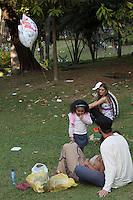 BELO HORIZONTE-MG-15.09.2013-Primeira virada cultural de Belo Horizonte- parque municipal- domingo,15-(Foto: Sergio Falci / Brazil Photo Press)