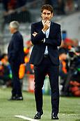 September 12th 2017, Munich, Germany, Champions League football, Bayern Munich versus Anderlecht;  Rene Weiler head coach of RSC Anderlecht