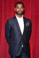 Karl Collins<br /> arrives for the British Soap Awards 2016 at Hackney Empire, London.<br /> <br /> <br /> &copy;Ash Knotek  D3124  28/05/2016