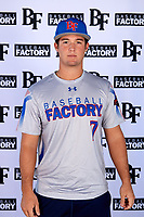 Albert Espinosa (7) of Columbus High School in Key Biscayne, Florida during the Baseball Factory All-America Pre-Season Tournament, powered by Under Armour, on January 12, 2018 at Sloan Park Complex in Mesa, Arizona.  (Mike Janes/Four Seam Images)