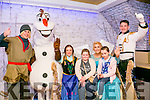 At the Frozen Fest at Ballybunion on Sunday were Ciara Hallahan and Ella O'Callaghan with the Characters of Frozen