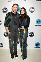 LOS ANGELES - FEB 5:  Dax Shepard, Lake Bell at the Disney ABC Television Winter Press Tour Photo Call at the Langham Huntington Hotel on February 5, 2019 in Pasadena, CA.<br /> CAP/MPI/DE<br /> ©DE//MPI/Capital Pictures