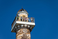 Observation Deck, Astoria Column, Oregon.