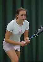 10-3-06, Netherlands, tennis, Rotterdam, National indoor junior tennis championchips, of Marieke  Zegwaart