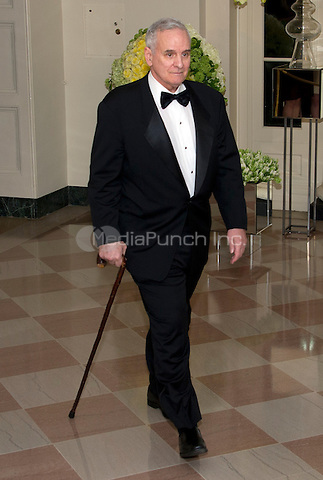 Governor Mark Dayton (Democrat of Minnesota) arrives for the State Dinner in honor of Prime Minister Trudeau and Mrs. Sophie Gr&Egrave;goire Trudeau of Canada at the White House in Washington, DC on Thursday, March 10, 2016.<br /> Credit: Ron Sachs / Pool via CNP/MediaPunch