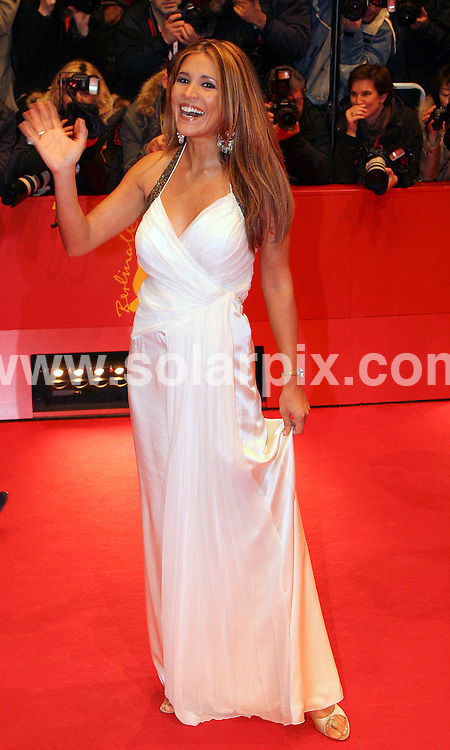 **ALL ROUND PICTURES FROM SOLARPIX.COM**.**SYNDICATION RIGHTS FOR UK AND SPAIN ONLY**.Karen Webb at the red carpet for the premiere of the movie 'Elegy' during the 58th International Filmfestival 'Berlinale' in Berlin  in Germany.JOB REF:5739          CPR        DATE:10.02.07.**MUST CREDIT SOLARPIX.COM OR DOUBLE FEE WILL BE CHARGED* *UNDER NO CIRCUMSTANCES IS THIS IMAGE TO BE REPRODUCED FOR ANY ONLINE EDITION WITHOUT PRIOR PERMISSION*