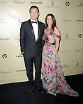 Jason Bateman and wife Amanda Anka at THE WEINSTEIN COMPANY 2013 GOLDEN GLOBES AFTER-PARTY held at The Old trader vic's at The Beverly Hilton Hotel in Beverly Hills, California on January 13,2013                                                                   Copyright 2013 Hollywood Press Agency