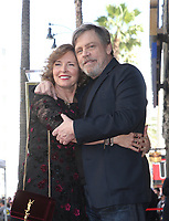 HOLLYWOOD, CA - MARCH 8: Marilou York, Mark Hamill, at Mark Hamill Honored With Star On The Hollywood Walk Of Fame At Hollywood Blvd in Hollywood, California on March 8, 2018. <br /> CAP/MPI/FS<br /> &copy;FS/MPI/Capital Pictures