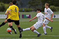 Team Wellington&rsquo;s Xavier Green in action during the National Youth League - Phoenix Youth v Team Wellington Youth at Petone Memorial Park, Lower Hutt, New Zealand on Saturday 29 October 2016.<br /> Photo by Masanori Udagawa. <br /> www.photowellington.photoshelter.com.