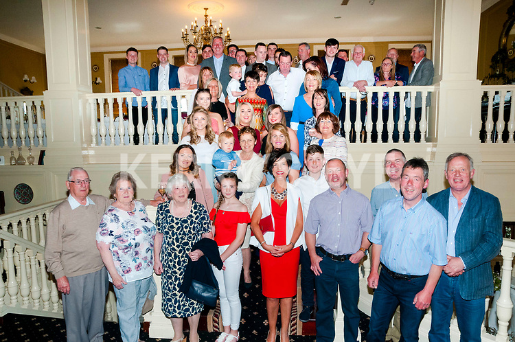 Dore Family Gathering: The Dore family from Listowel who had a family gathering at the Listowel Arms Hotel on Saturday last.