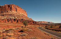 Near Capitol Reef National Monument, Utah.