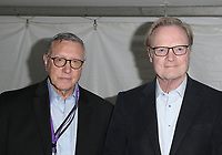 LOS ANGELES, CA -APRIL 13: Norman Pearlstine, Lawrence O'Donnell, at the 2019 Los Angeles Times Festival Of Books at University of Southern California in Los Angeles, California on April 13, 2019.    <br /> CAP/MPI/SAD<br /> &copy;SAD/MPI/Capital Pictures