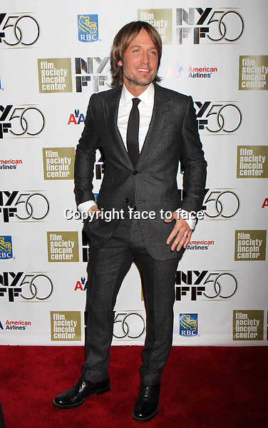 "Keith Urban attends The Film Society of Lincoln Center's Gala Tribute to Nicole Kidman followed by the premiere of ""The Paperboy"" at The 50th Annual New York Film Festival at Lincoln Center's Alice Tully Hall in New York, 03.10.2012. Credit: Rolf Mueller/face to face"