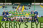 Kerry Hurlers at the Kerry v Westmeath game at Austin Stack Park on Sunday