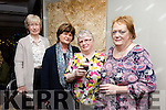 Joan Cashman of The Colour and Image Academy evening of style and fun in aid of Blennerville Community Playschool at Benners Hotel on Friday. Pictured Sheila Hobbert, Kathleen O'Mahony, Mary Heaslip and Catherine McCarthy