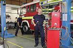 Fire Station Calender.Garage.Photo: Fran Caffrey/www.newsfile.ie..