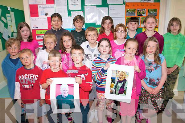 Pupils at Tahilla National School have spent the last few months putting together a local photo and history exhibition which was officially launched last week. .Back L-R Shauna O'Shea, Patrick Letanneur, Johno Kool, Mikaela Mulcahy, Millie Reilly, Abigail Kelly and Lydia Stait.Middle L-R Jordan Kool, Joshua Reeve, Derinda Hallissey, Brendan O'Sullivan and Aoife Gallogly.Front L-R Colin Hallissey, Christopher Wallace, Alec Mulcahy, Ella Alison Jade Reeve and Lorraine Hallissey. .