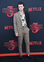 "28 June 2019 - Santa Monica, California - Joe Keery. ""Stranger Things 3"" LA Premiere held at Santa Monica High School. <br /> CAP/ADM/BT<br /> ©BT/ADM/Capital Pictures"