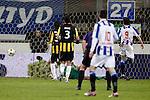 Nederland, Heerenveen, 22 december  2012.Eredivisie.Seizoen 2012/2013.Heerenveen-Vitesse 2-1.Filip Djuricic van SC Heerenveen scoort de 1-0