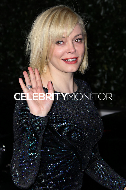 [(FILE) Actress Rose McGowan married artist Davey Detail on October 12, 2013] LOS ANGELES, CA - FEBRUARY 13: Actress Rose McGowan attends the Topshop Topman LA Opening Party held at Cecconi's Restaurant on February 13, 2013 in Los Angeles, California. (Photo by Xavier Collin/Celebrity Monitor)
