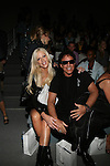 Michaele Salahi and Journey guitarist  Neal Schon Front Row at Zang Toi Spring 2014 Fashion Show Held During Mercedes Benz Fashion Week NY