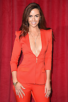 Jennifer Metcalfe<br /> arrives for the British Soap Awards 2016 at Hackney Empire, London.<br /> <br /> <br /> &copy;Ash Knotek  D3124  28/05/2016