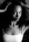 African American female model