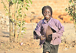 A girl in Yei, Southern Sudan. NOTE: In July 2011, Southern Sudan became the independent country of South Sudan
