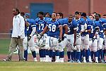 Culver City, CA 09/17/10 - The Culver City team takes the field.