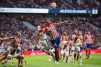 Lucas Hernandez of Atletico Madrid during the match between Real Madrid v Rayo Vallecano of LaLiga, 2018-2019 season, date 2. Wanda Metropolitano Stadium. Madrid, Spain - 25 August 2018. Mandatory credit: Ana Marcos / PRESSINPHOTO
