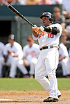 9 March 2007: Baltimore Orioles infielder Miguel Tejada in action against the Washington Nationals at Fort Lauderdale Stadium in Fort Lauderdale, Florida. <br /> <br /> Mandatory Photo Credit: Ed Wolfstein Photo