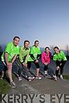 Runners Training for the Tralee international Marathon