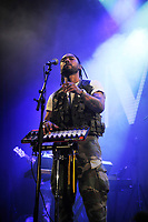LONDON, ENGLAND - OCTOBER 11: Miguel (Miguel Jontel Pimentel) performing at Islington Assembly Hall on October 11, 2017 in London, England.<br /> CAP/MAR<br /> &copy;MAR/Capital Pictures
