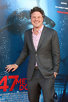 "LOS ANGELES - JUN 12:  Johannes Roberts at the ""47 Meters Down"" Premiere at the Village Theater on June 12, 2017 in Westwood, CA"