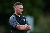 Margate manager Jay Saunders during Hornchurch vs Margate, BetVictor League Premier Division Football at Hornchurch Stadium on 13th August 2019