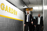 June 6, 2019: Boston Bruins defenseman Zdeno Chara (33) makes his way to the locker room before game 5 of the NHL Stanley Cup Finals between the St Louis Blues and the Boston Bruins held at TD Garden, in Boston, Mass. Eric Canha/CSM
