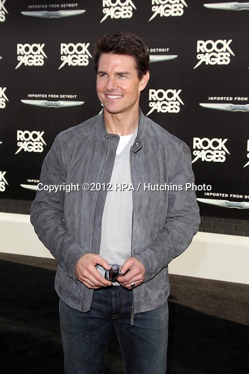 """LOS ANGELES - JUN 8:  Tom Cruise arriving at """"Rock of Ages"""" World Premiere at Graumans Chinese Theater on June 8, 2012 in Los Angeles, CA"""