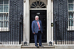 © Joel Goodman - 07973 332324 . 11/05/2015 . London , UK . PATRICK MCLOUGHLIN leaves 10 Downing Street this afternoon (11th May 2015) . Photo credit : Joel Goodman