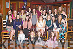 BIRTHDAY FUN: Katie McEvoy, Connolly Park, Tralee (seated centre) having a great time celebrating her 18th birthday with family and friends at the Meadowlands hotel, Tralee on Saturday...