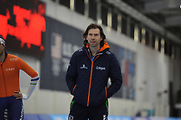 SPEEDSKATING: SALT LAKE CITY: 07-12-2017, Utah Olympic Oval, training ISU World Cup, Gerard van Velde (trainer/coach), ©photo Martin de Jong