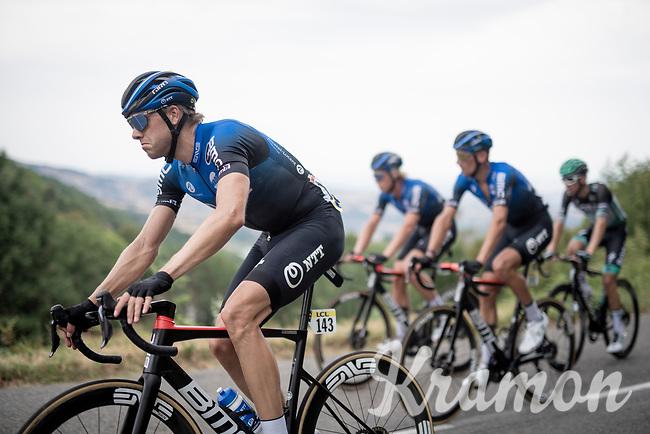 Edvald Boasson Hagen (NOR/NTT)<br /> <br /> Stage 1: Clermont-Ferrand to Saint-Christo-en-Jarez (218km)<br /> 72st Critérium du Dauphiné 2020 (2.UWT)<br /> <br /> ©kramon