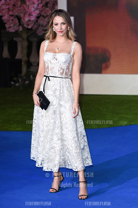 """LONDON, UK. December 12, 2018: Sophie Hermann at the UK premiere of """"Mary Poppins Returns"""" at the Royal Albert Hall, London.<br /> Picture: Steve Vas/Featureflash"""